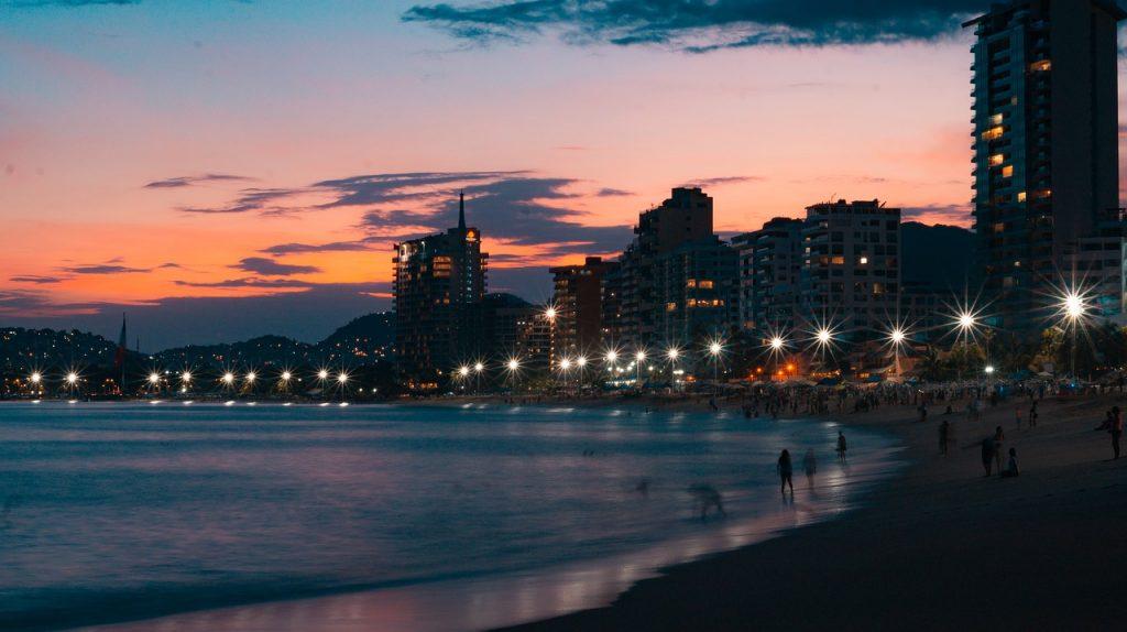 Acapulco al atardecer