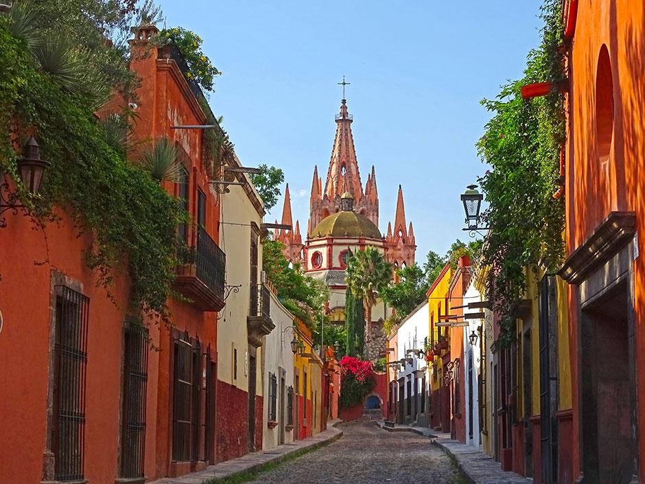 Vista de San Miguel de Allende