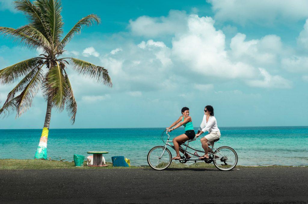 Bicicleta en Isla Mujeres