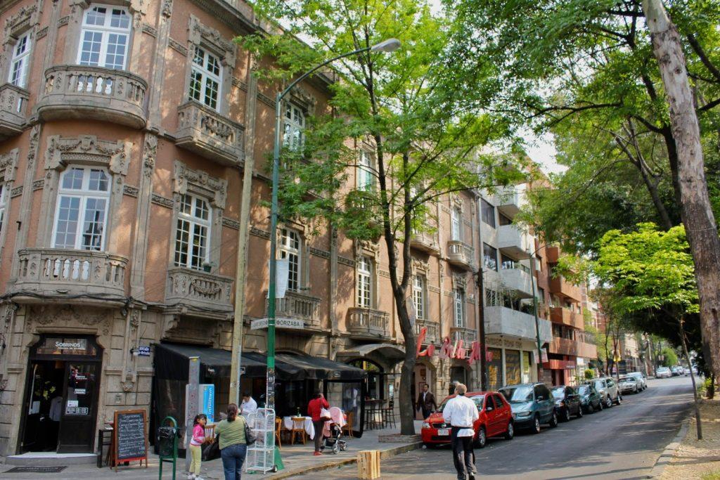 calles de la colonia roma