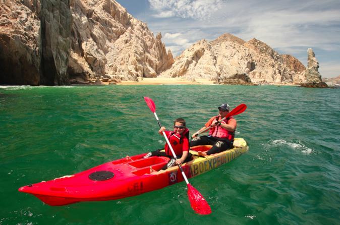 Kayak en el mar de cortes