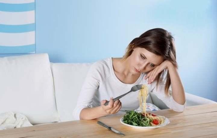 la depresión y la alimentación