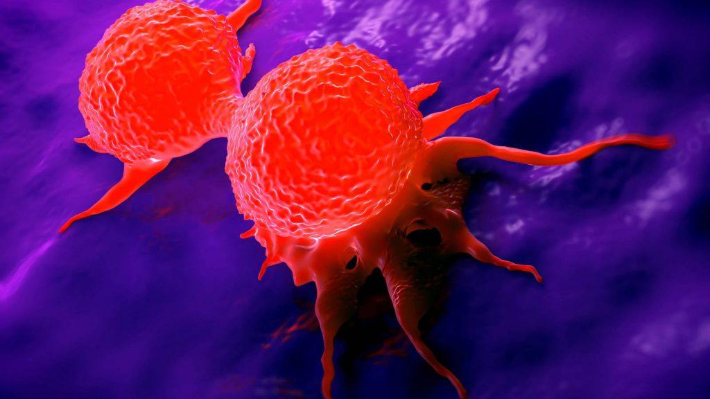 porque tienes células cancerosas