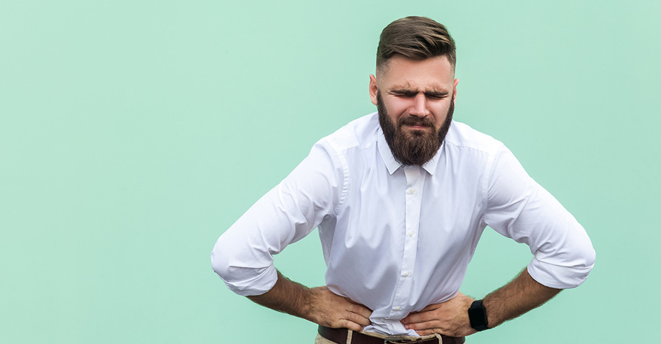 fuerte dolor por gastroenteritis